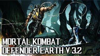MORTAL KOMBAT DEFENDER EARTH V3.2 [JOGO M.U.G.E.N SENSACIONAL!!!!]