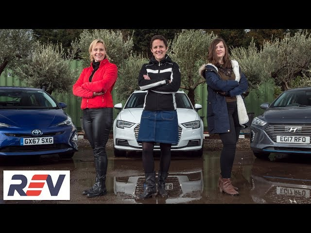 The REV Test: Hybrid cars - Three women, three cars. Which is the winner?
