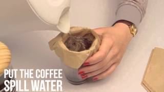 How to make coffee witout coffee maker I DIY