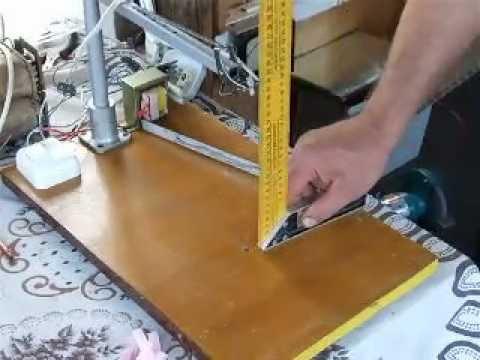 Как сделать аппарат для резки пенопласта видео