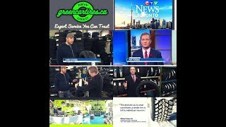 Green Car Tires - Tire Shop's Interview with CTV News Toronto's Pat Foran - All Weather Tires