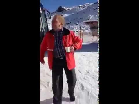 ich sage immer Ski fahren ist gut