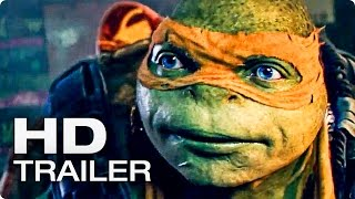 TEENAGE MUTANT NINJA TURTLES 2 Trailer German Deutsch (2016)