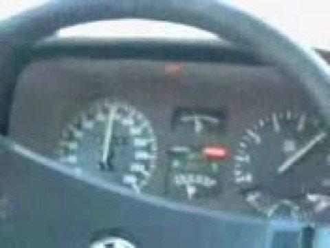 BMW 732i 0-200km/h