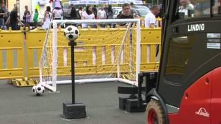 Gabel-Stapler-Meisterschaft: Geschick und Präzision