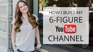 How I Turned My YouTube Channel Into a 6-FIGURE BUSINESS