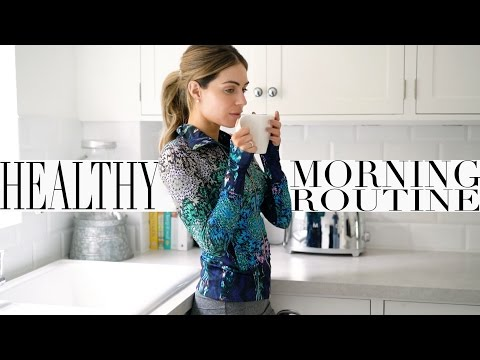 MY HEALTHY MORNING ROUTINE WORK OUT ROUTINE Lydia Elise Millen Ad