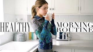 MY HEALTHY MORNING ROUTINE + WORK OUT ROUTINE   Lydia Elise Millen   Ad