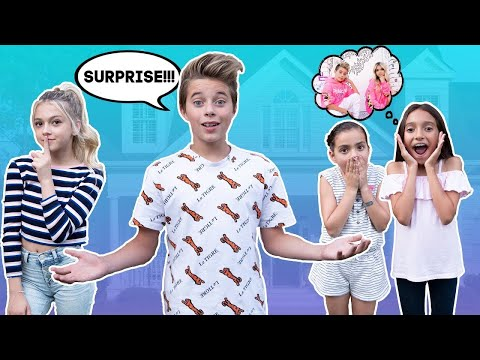 My Crush and I SURPRISE SUPERFANS At Their House 🏠❤️ Gavin Magnus ft. Coco Quinn