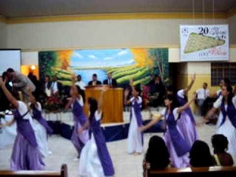 Coreografia gospel magnificado