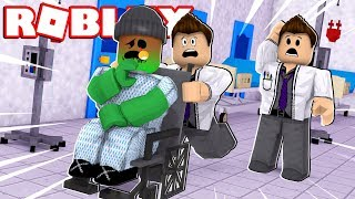 TRANSFORMING INTO A ZOMBIE!! | Roblox Hospital Roleplay