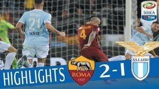 Roma - Lazio 2 - 1 - Highlights - Giornata 13 - Serie A TIM 2017/18