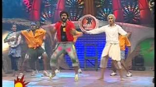 vishwaa mm4 folk round with nivas krithika ,,,,,,, sandy bai choreo