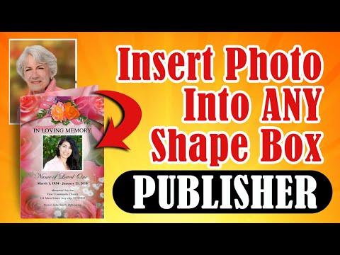 Xxx Mp4 Insert A Photo Funeral Program Template Publisher 3gp Sex