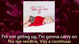 Madonna - Living For Love (Lyric Video) Español/Ingles