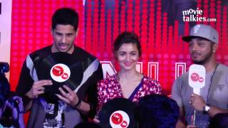 Alia Bhatt- Sidharth Malhotra, Coke Studio @ MTV Season 7 Launch