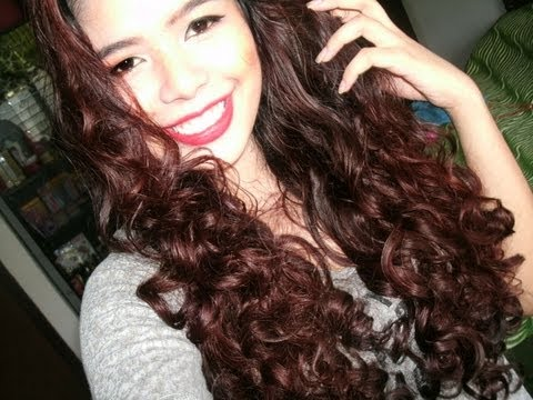 No Heat Baby Wipes Curls Heatless Big Hair Curls Hair Tutorial 2012