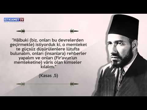 Hasan El-Benna'dan Gençliğe Tavsiyeler[Kendi Sesinden] - İstikamet TV
