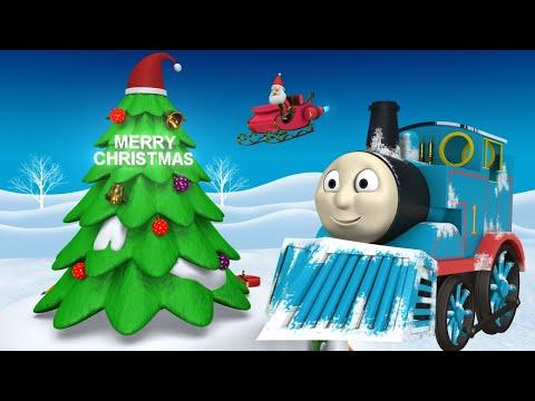 Thomas Chirstmas Train - Choo Choo Train - Toy Train - Toy Factory - Videos for Kids - Cartoon Train