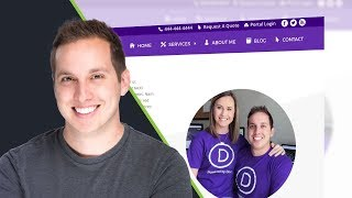 How to Customize the Top Header in Divi
