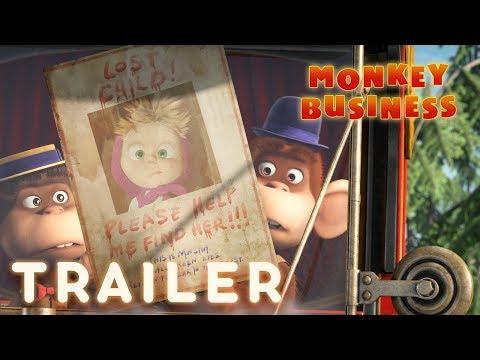 Xxx Mp4 Masha And The Bear Monkey Business 🐒 Trailer 3gp Sex