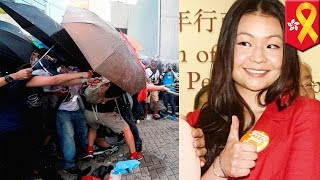 Hong Kong protests: CY Leung's spoiled daughter mocks Hong Kong activists