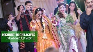 F&A Paradise Complex Mehndi 2016 Cinematic Video Islamabad |  Shehroz Malik Films |
