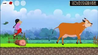 New Meena Raju Cartoon in Bangla মিনা রাজু -পর্ব :মিনার সমান ভাগেভাগ এর কৌশল -UNICEF Meenas Gameplay