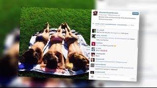 Alessandra Ambrosio Sunbathes Topless | Splash News TV | Splash News TV