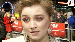 Saoirse Ronan Interview Brooklyn Premiere
