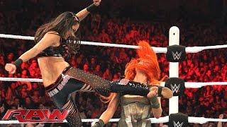 Becky Lynch vs. Sasha Banks vs. Brie Bella vs. Paige - Fatal 4-Way Match: Raw, November 2, 2015