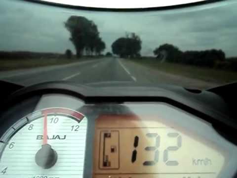 Bajaj Rouser 200 on board