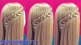 ถักเปียสวยๆ แบบง่ายๆ cute and easy braid SAMSAM BEAUTY