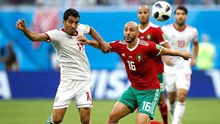 ملخص مباراة المغرب وايران 0-1جنون روؤف خليف - كاس العالم 2018