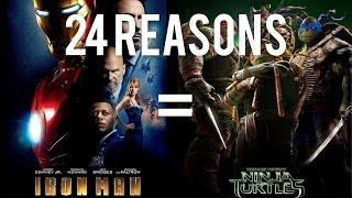 24 Reasons Iron Man & Teenage Mutant Ninja Turtles Are The Same Movie