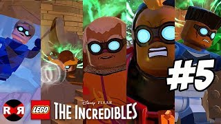 LEGO The Incredibles - HOUSE PARR TY - PS4 Pro Walkthrough Gameplay Part 5