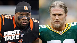 Do new NFL contracts for Vontaze Burfict, Clay Matthews and Randall Cobb matter? | First Take