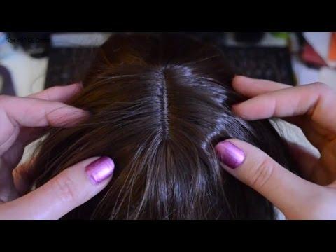 ASMR A Scalp Massage . Whispering