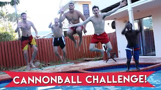 EPIC CANNONBALL CHALLENGE!!