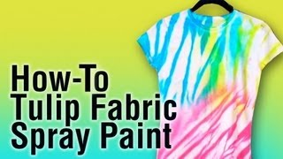 how to use tulip fabric spray paint. Black Bedroom Furniture Sets. Home Design Ideas