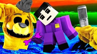 Realistic Minecraft - FNAF GOLDEN FREDDY IN REAL LIFE!