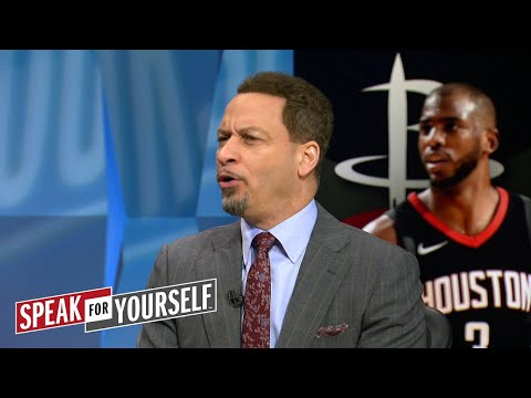 Chris Broussard on Shaq fighting with Barkley Houston s matchup with GSW NBA SPEAK FOR YOURSELF