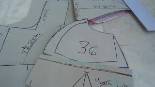 (36 inches blouse) doUbLe katori farm a cutting