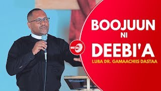 BOOJUUN NI DEEBI'A LUBA DR. GAMAACHIIS DASTAA | MO'AA TV