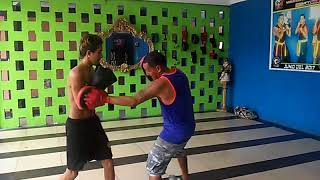 Pincay boxing