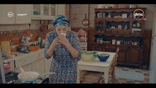 لما حبيبك يتصل بيكي وانتي بتطبخي .. ( مشهد درامي كوميدي لـ منيرة ) #الطوفان