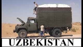 Uzbekistan From Khiva to Bukhara (470 km) Part 6