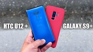 HTC U12+ vs Galaxy S9+ Camera Comparison Test!