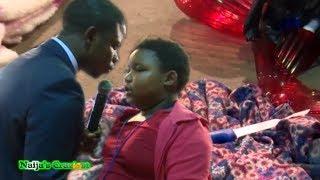 Girl Vomits Flower Vase And Knife During Deliverance - Prophet Shepherd Bushiri Major 1