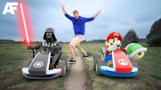 Super Mario vs. Star Wars | REAL LIFE 3D ANIMATION (1/2)
